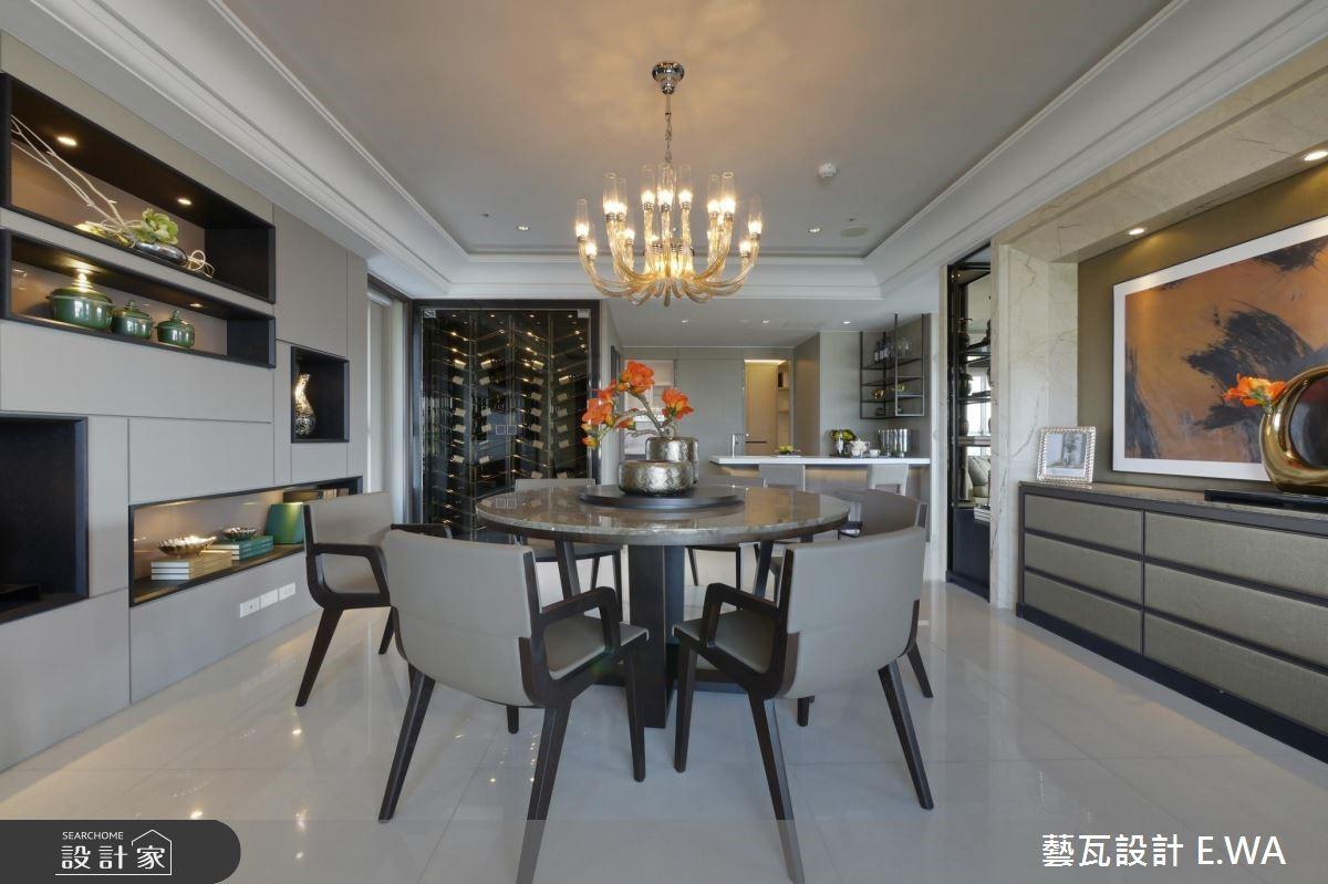 137坪新成屋(5年以下)_現代風餐廳案例圖片_藝瓦室內設計_藝瓦_03之15