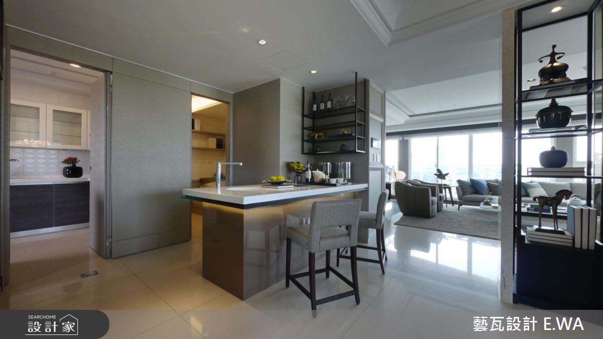 137坪新成屋(5年以下)_現代風吧檯案例圖片_藝瓦室內設計_藝瓦_03之12
