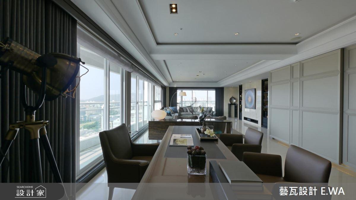 137坪新成屋(5年以下)_現代風書房案例圖片_藝瓦室內設計_藝瓦_03之7