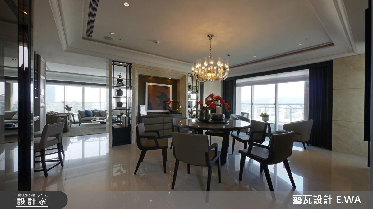 137坪新成屋(5年以下)_現代風餐廳案例圖片_藝瓦室內設計_藝瓦_03之14