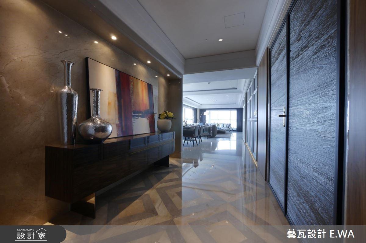 137坪新成屋(5年以下)_現代風玄關案例圖片_藝瓦室內設計_藝瓦_03之2