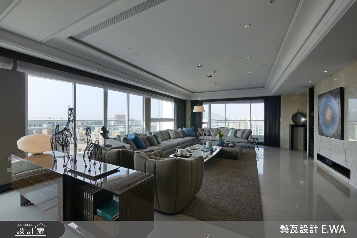 137坪新成屋(5年以下)_現代風客廳案例圖片_藝瓦室內設計_藝瓦_03之6