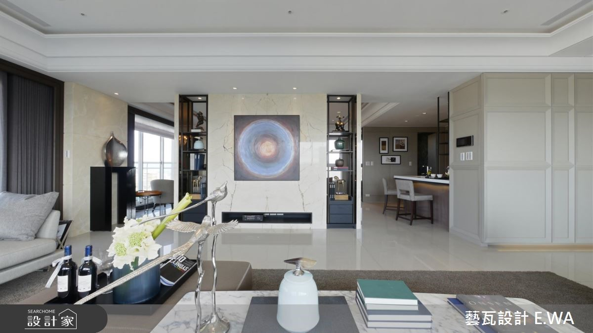 137坪新成屋(5年以下)_現代風客廳案例圖片_藝瓦室內設計_藝瓦_03之11