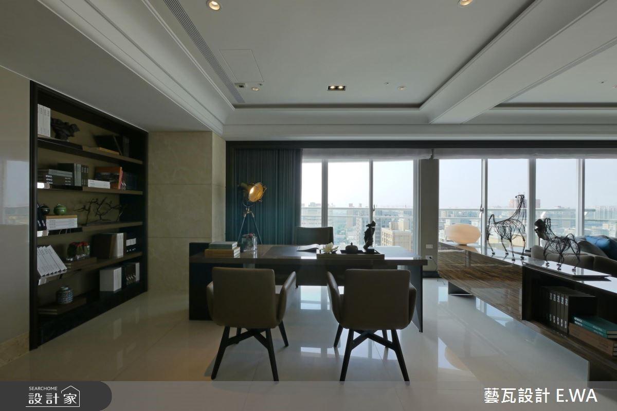 137坪新成屋(5年以下)_現代風書房案例圖片_藝瓦室內設計_藝瓦_03之5