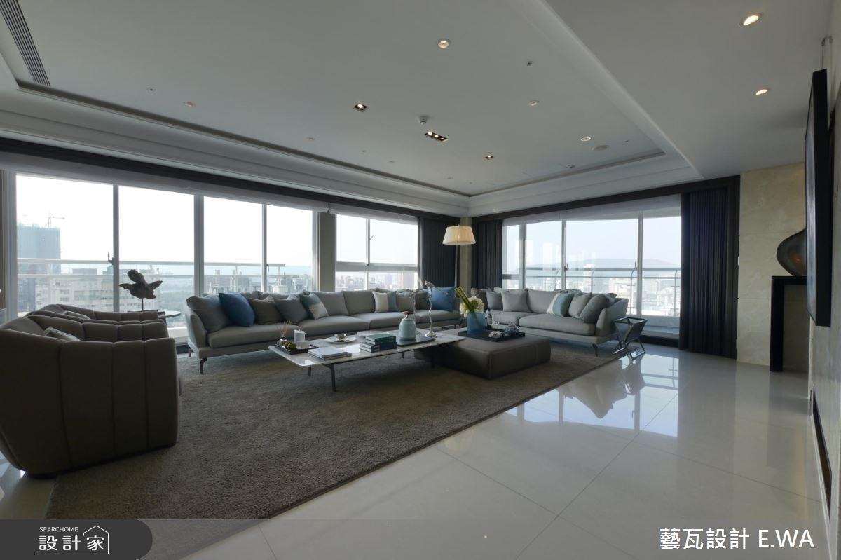 137坪新成屋(5年以下)_現代風客廳案例圖片_藝瓦室內設計_藝瓦_03之8