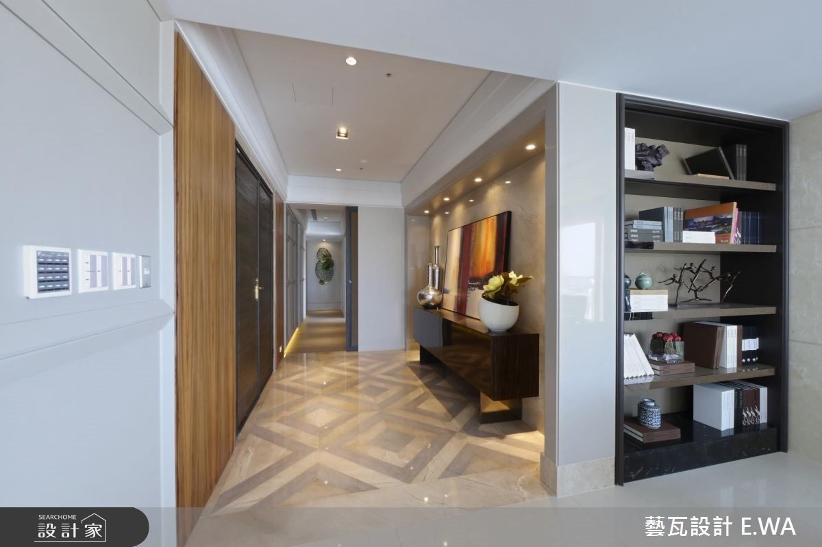 137坪新成屋(5年以下)_現代風玄關案例圖片_藝瓦室內設計_藝瓦_03之3