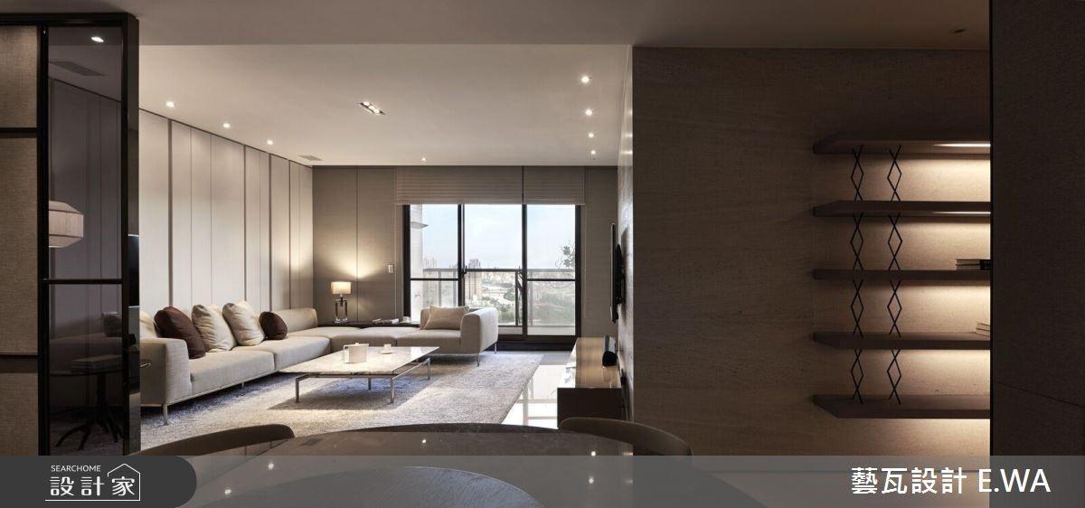 75坪新成屋(5年以下)_休閒風客廳案例圖片_藝瓦室內設計_藝瓦_04之2