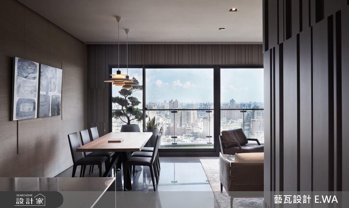 80坪新成屋(5年以下)_現代風餐廳案例圖片_藝瓦室內設計_藝瓦_05之4