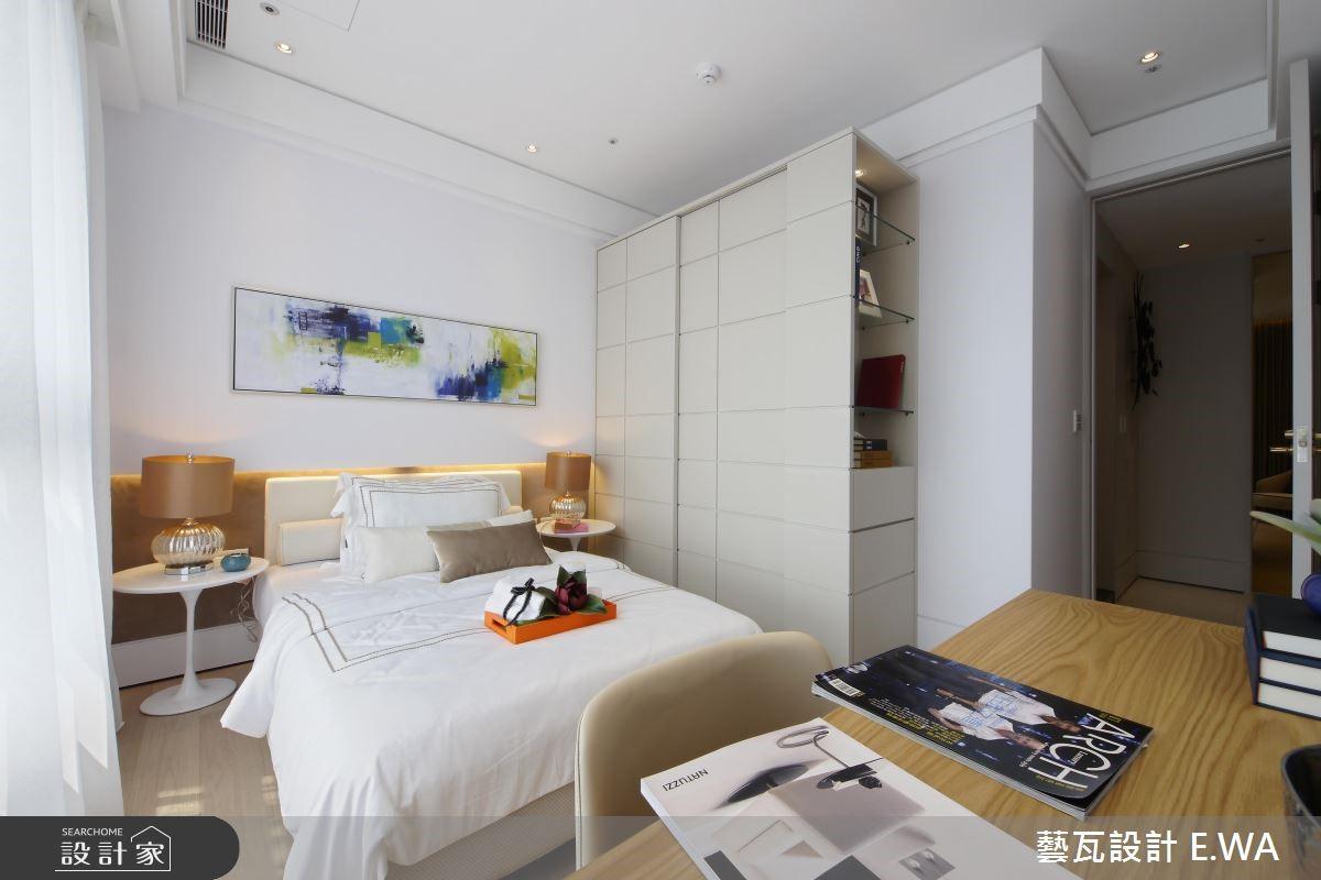 66坪新成屋(5年以下)_簡約風臥室客房案例圖片_藝瓦室內設計_藝瓦_07之22