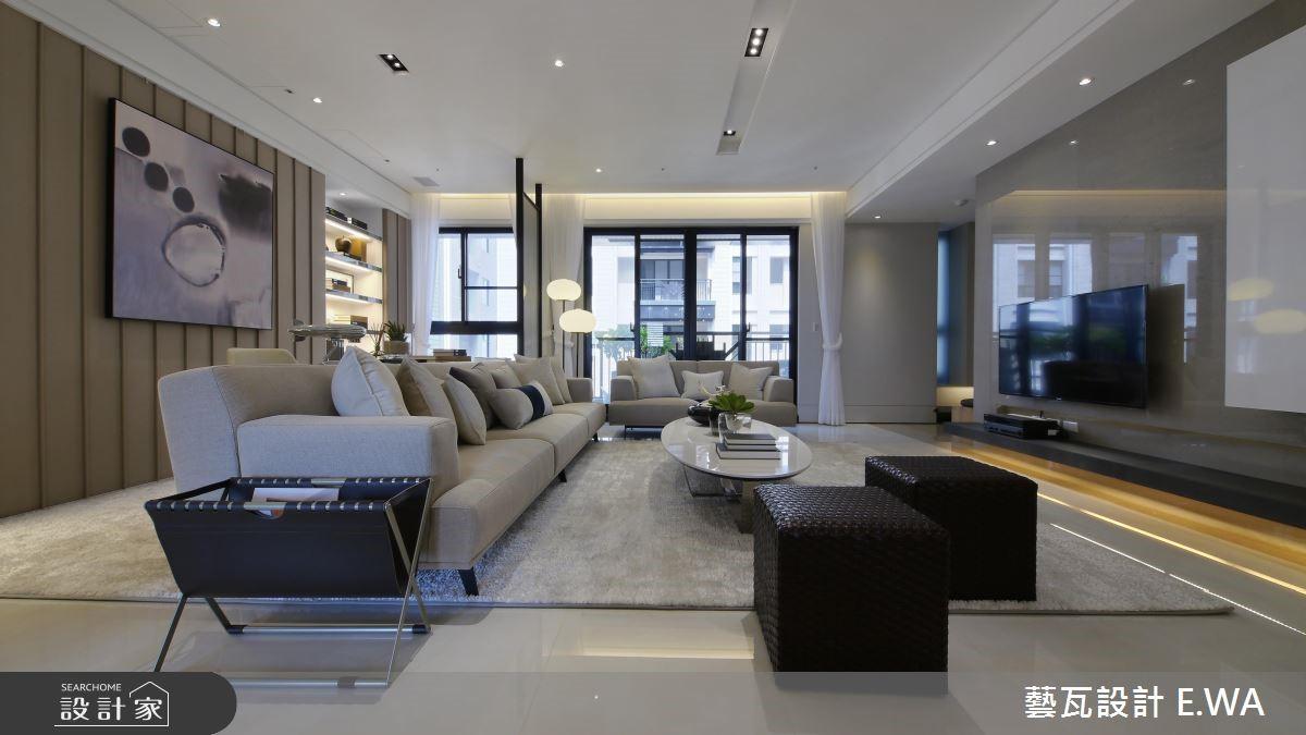 66坪新成屋(5年以下)_簡約風客廳案例圖片_藝瓦室內設計_藝瓦_07之3