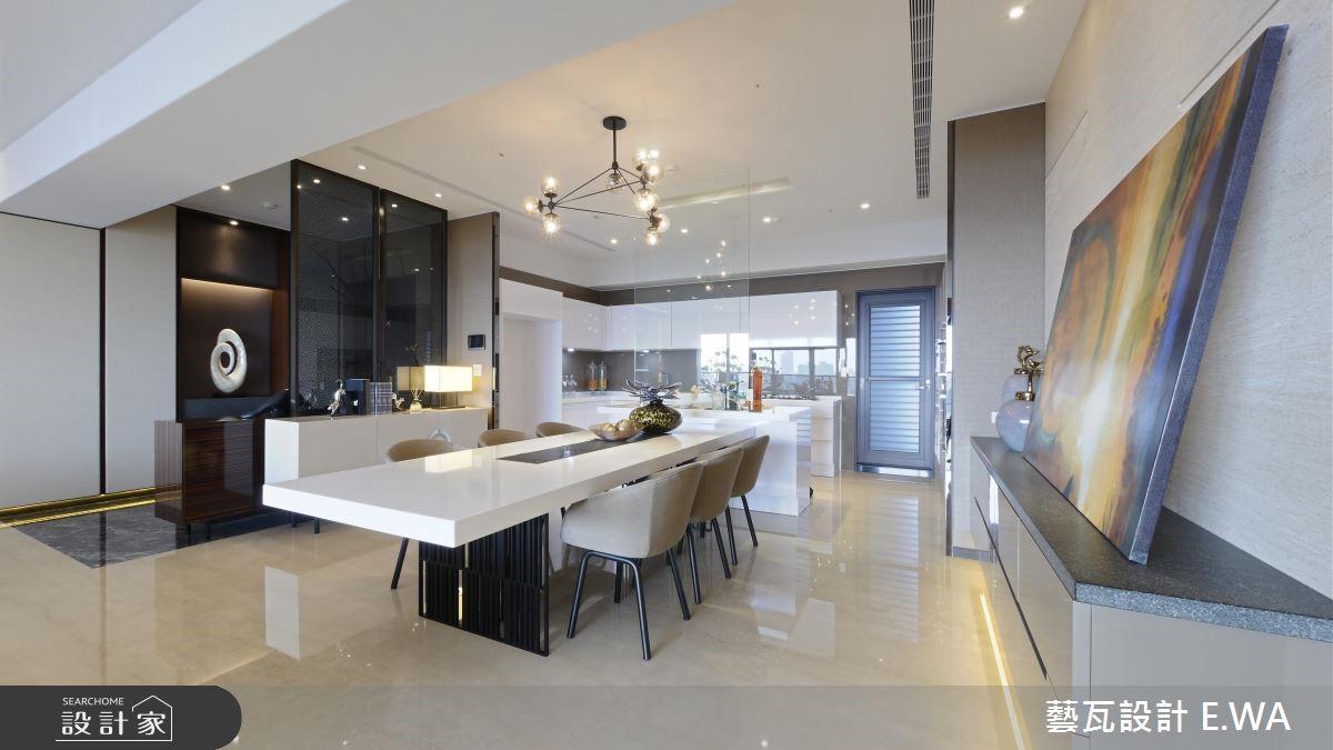 108坪新成屋(5年以下)_現代風餐廳廚房案例圖片_藝瓦室內設計_藝瓦_09之4