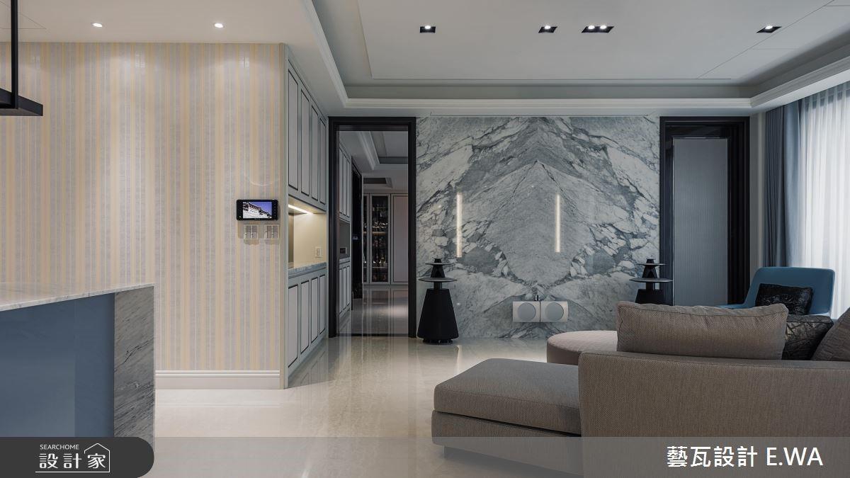 180坪新成屋(5年以下)_現代風客廳案例圖片_藝瓦室內設計_藝瓦_11之4