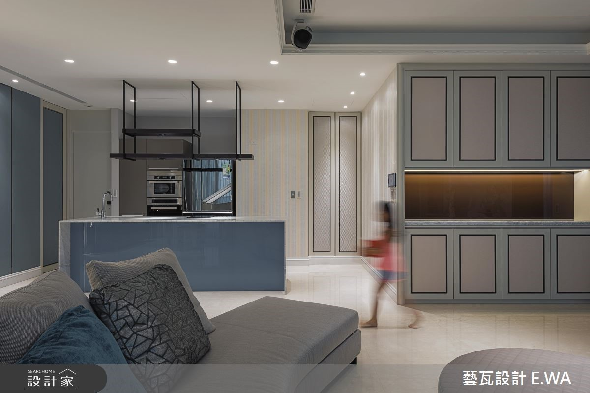 180坪新成屋(5年以下)_現代風客廳廚房案例圖片_藝瓦室內設計_藝瓦_11之3