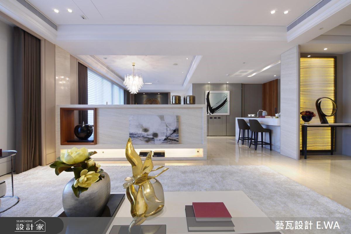92坪新成屋(5年以下)_現代風客廳案例圖片_藝瓦室內設計_藝瓦_14之3