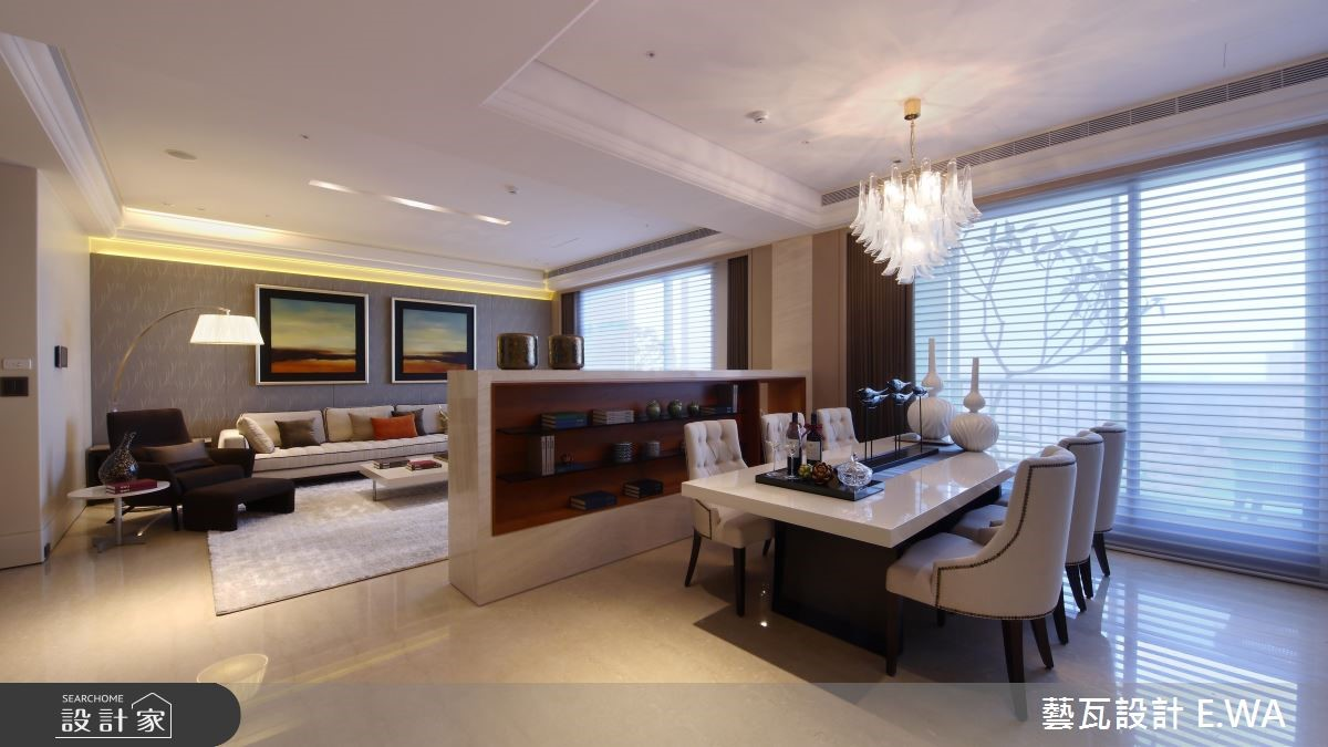 92坪新成屋(5年以下)_現代風餐廳案例圖片_藝瓦室內設計_藝瓦_14之4