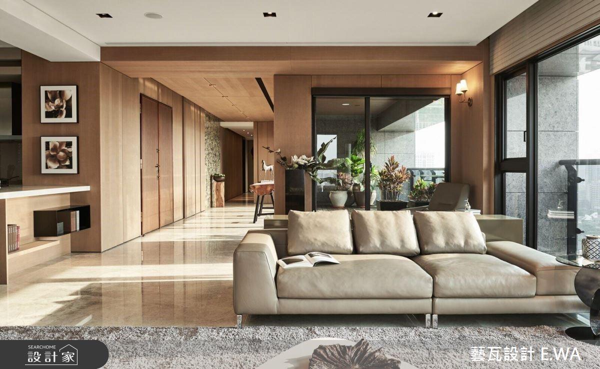 120坪新成屋(5年以下)_奢華風客廳案例圖片_藝瓦室內設計_藝瓦_15之2