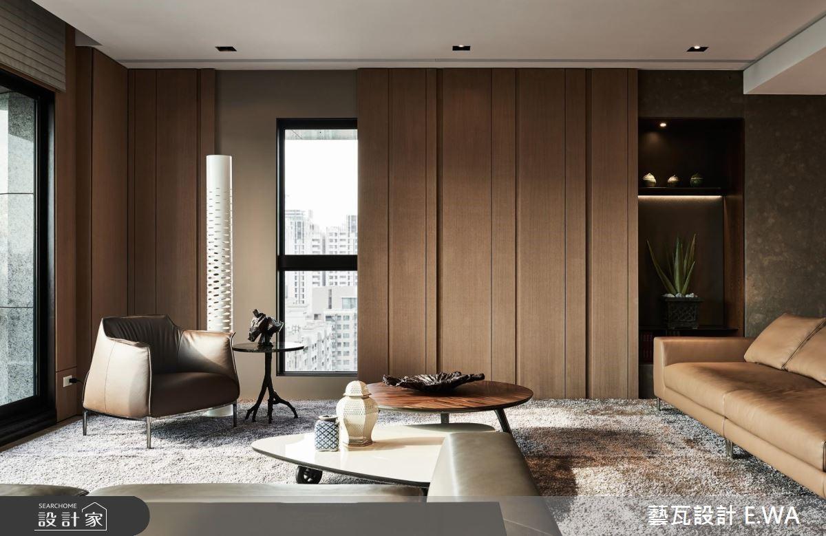 120坪新成屋(5年以下)_奢華風客廳案例圖片_藝瓦室內設計_藝瓦_15之3
