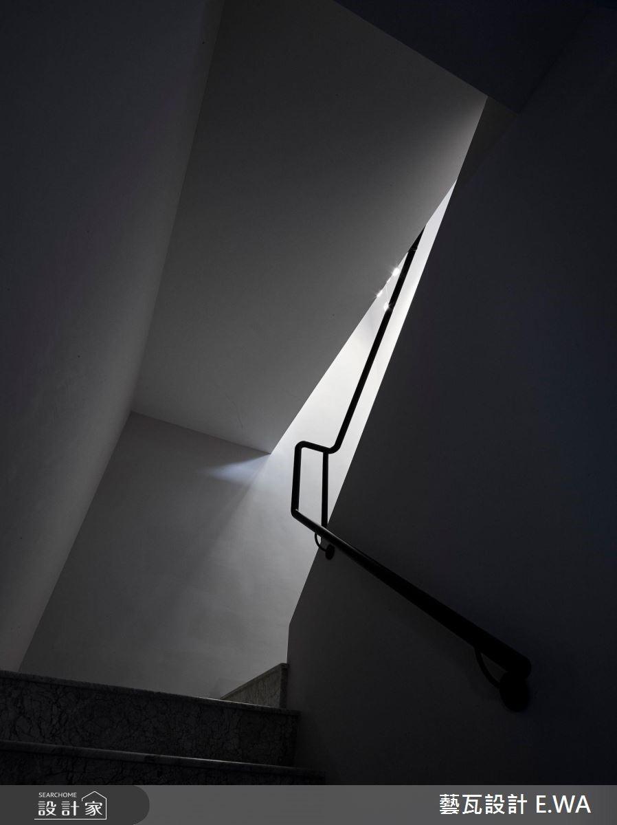 200坪老屋(16~30年)_現代風樓梯案例圖片_藝瓦室內設計_藝瓦_18之26