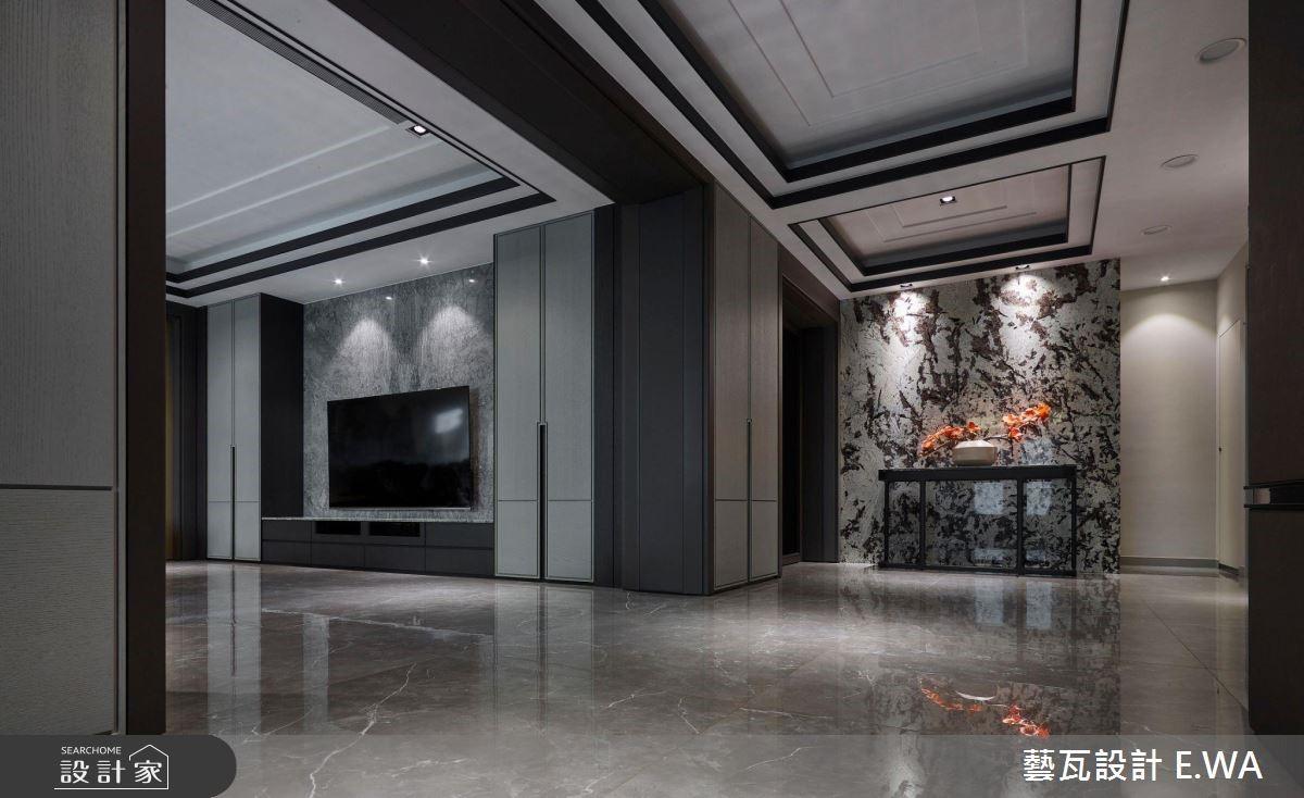 200坪老屋(16~30年)_現代風客廳走廊案例圖片_藝瓦室內設計_藝瓦_18之2