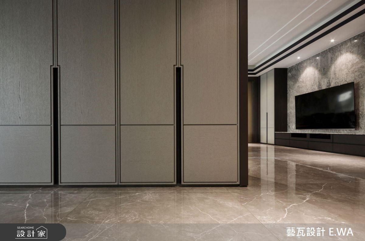 200坪老屋(16~30年)_現代風客廳走廊案例圖片_藝瓦室內設計_藝瓦_18之3