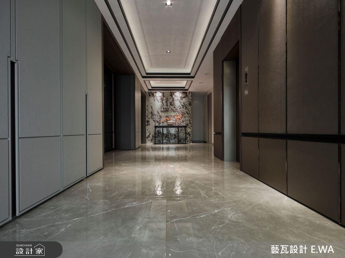 200坪老屋(16~30年)_現代風走廊案例圖片_藝瓦室內設計_藝瓦_18之1