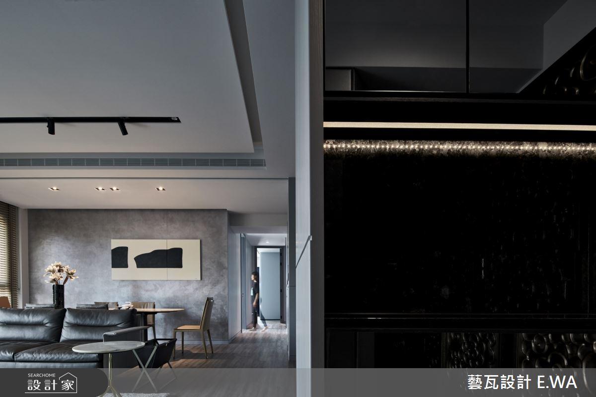 90坪新成屋(5年以下)_現代風客廳案例圖片_藝瓦室內設計_藝瓦_20之1