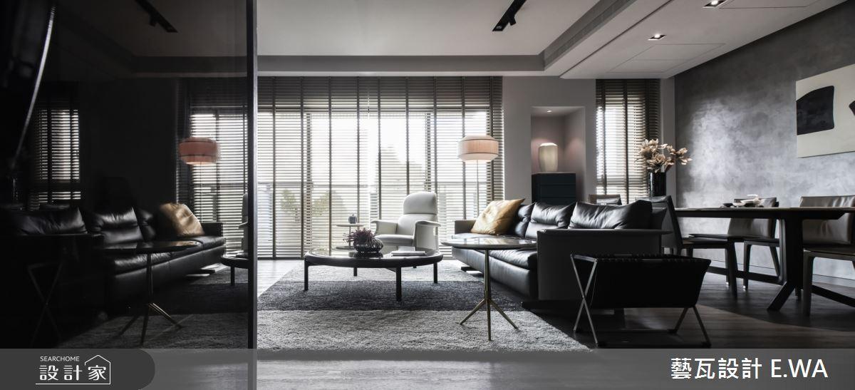 90坪新成屋(5年以下)_現代風客廳案例圖片_藝瓦室內設計_藝瓦_20之2