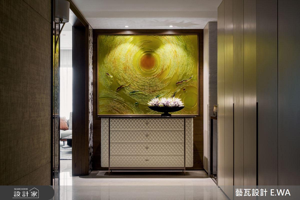 110坪新成屋(5年以下)_簡約風玄關案例圖片_藝瓦室內設計_藝瓦_22之3