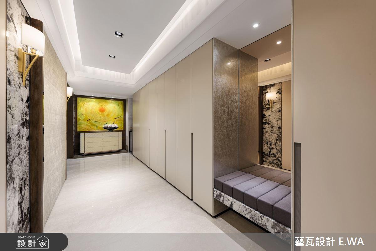 110坪新成屋(5年以下)_簡約風玄關案例圖片_藝瓦室內設計_藝瓦_22之2