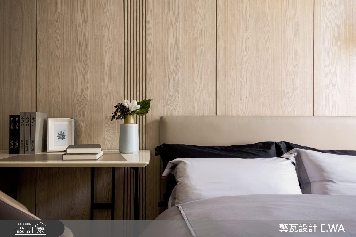 50坪新成屋(5年以下)_日式無印風臥室案例圖片_藝瓦室內設計_藝瓦_24之16