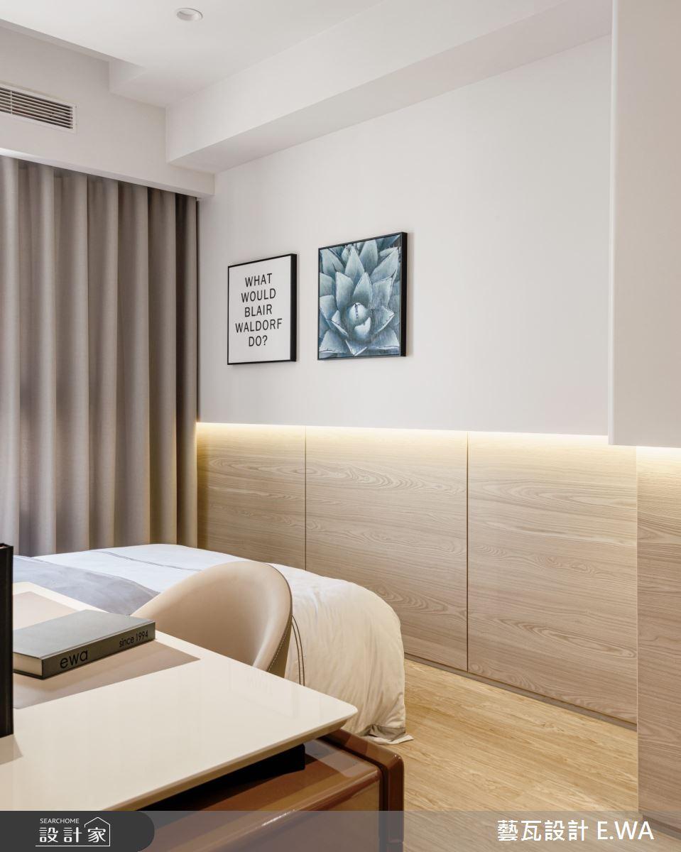 50坪新成屋(5年以下)_日式無印風臥室案例圖片_藝瓦室內設計_藝瓦_24之14