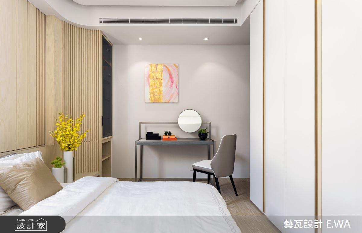 50坪新成屋(5年以下)_日式無印風臥室案例圖片_藝瓦室內設計_藝瓦_24之12
