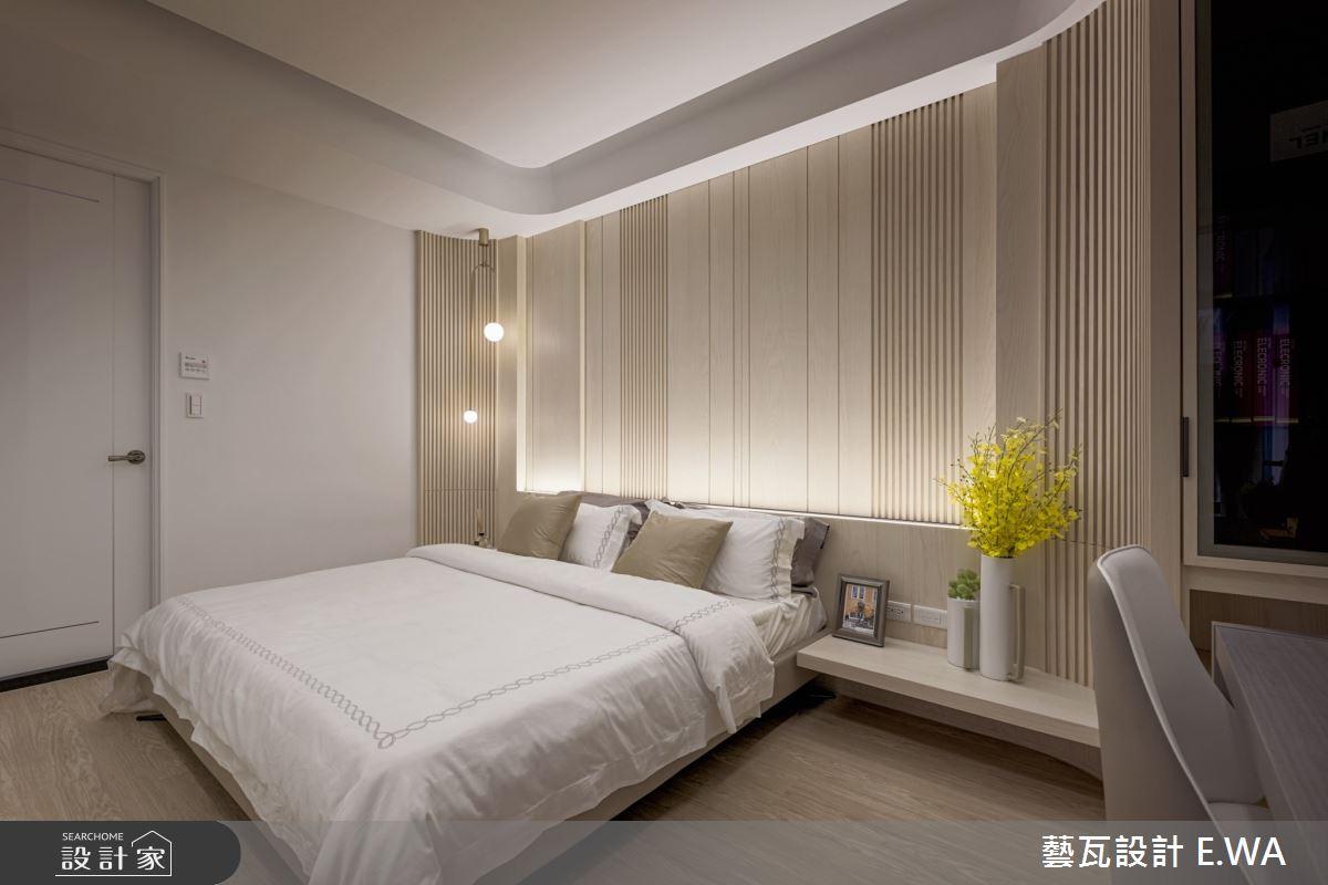 50坪新成屋(5年以下)_日式無印風臥室案例圖片_藝瓦室內設計_藝瓦_24之11