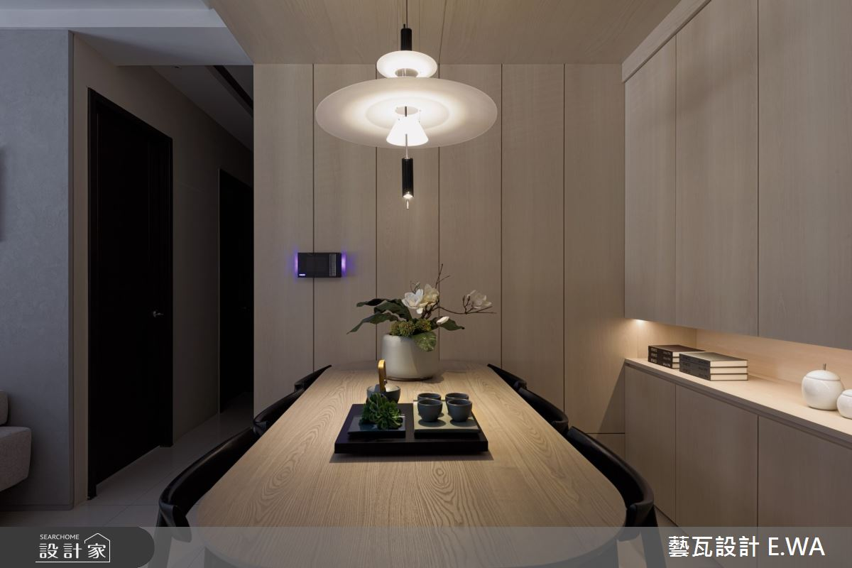 50坪新成屋(5年以下)_日式無印風餐廳案例圖片_藝瓦室內設計_藝瓦_24之9