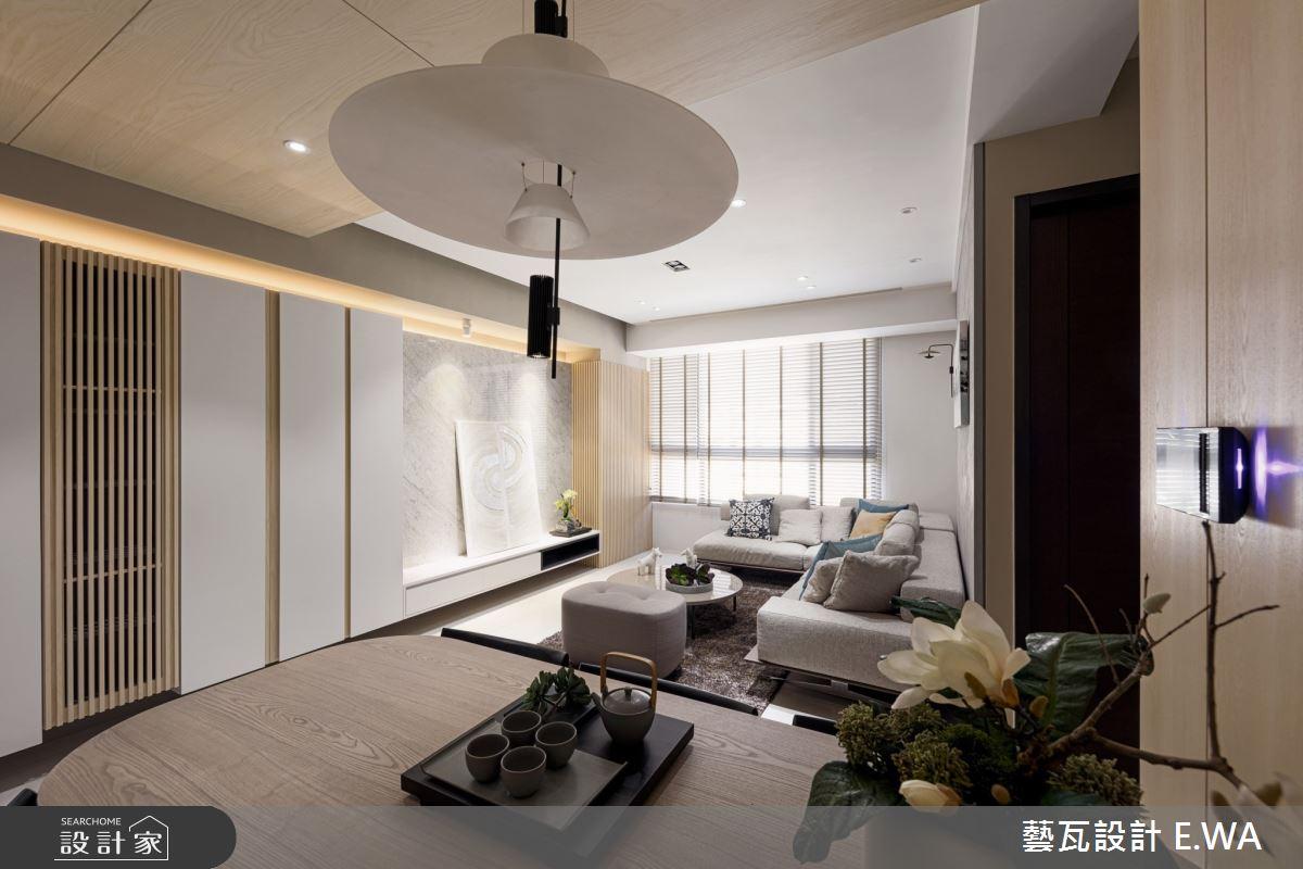 50坪新成屋(5年以下)_日式無印風客廳案例圖片_藝瓦室內設計_藝瓦_24之6
