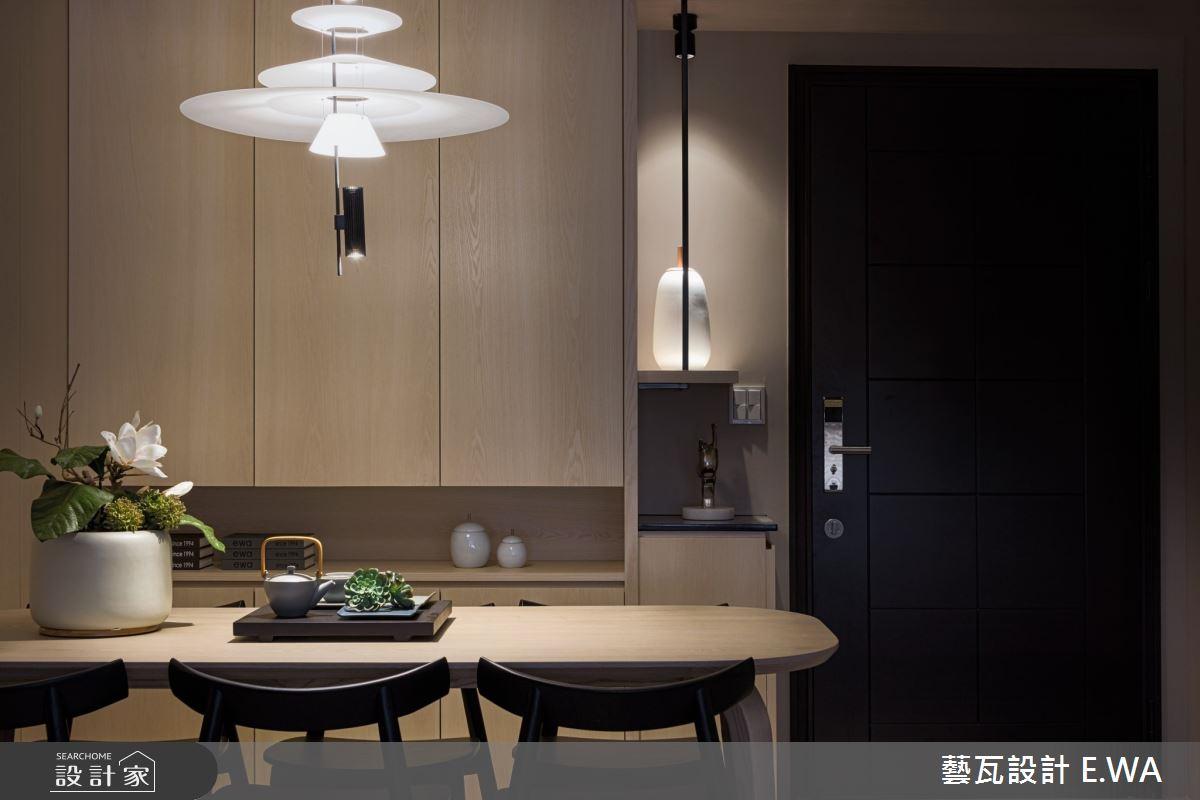 50坪新成屋(5年以下)_日式無印風餐廳案例圖片_藝瓦室內設計_藝瓦_24之8