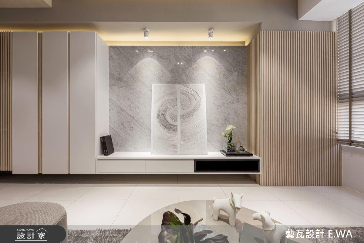 50坪新成屋(5年以下)_日式無印風客廳案例圖片_藝瓦室內設計_藝瓦_24之4