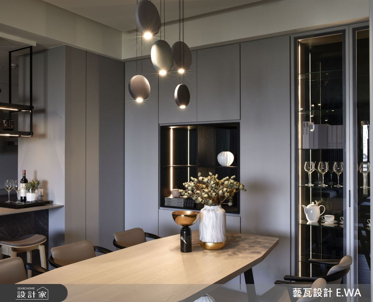 90坪新成屋(5年以下)_現代風餐廳案例圖片_藝瓦室內設計_藝瓦_25之10