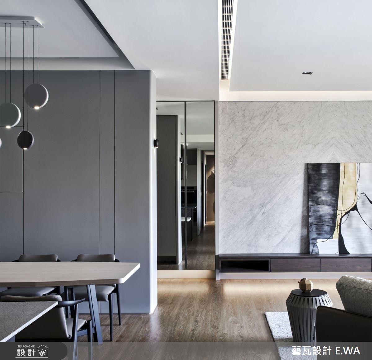 90坪新成屋(5年以下)_現代風餐廳案例圖片_藝瓦室內設計_藝瓦_25之12