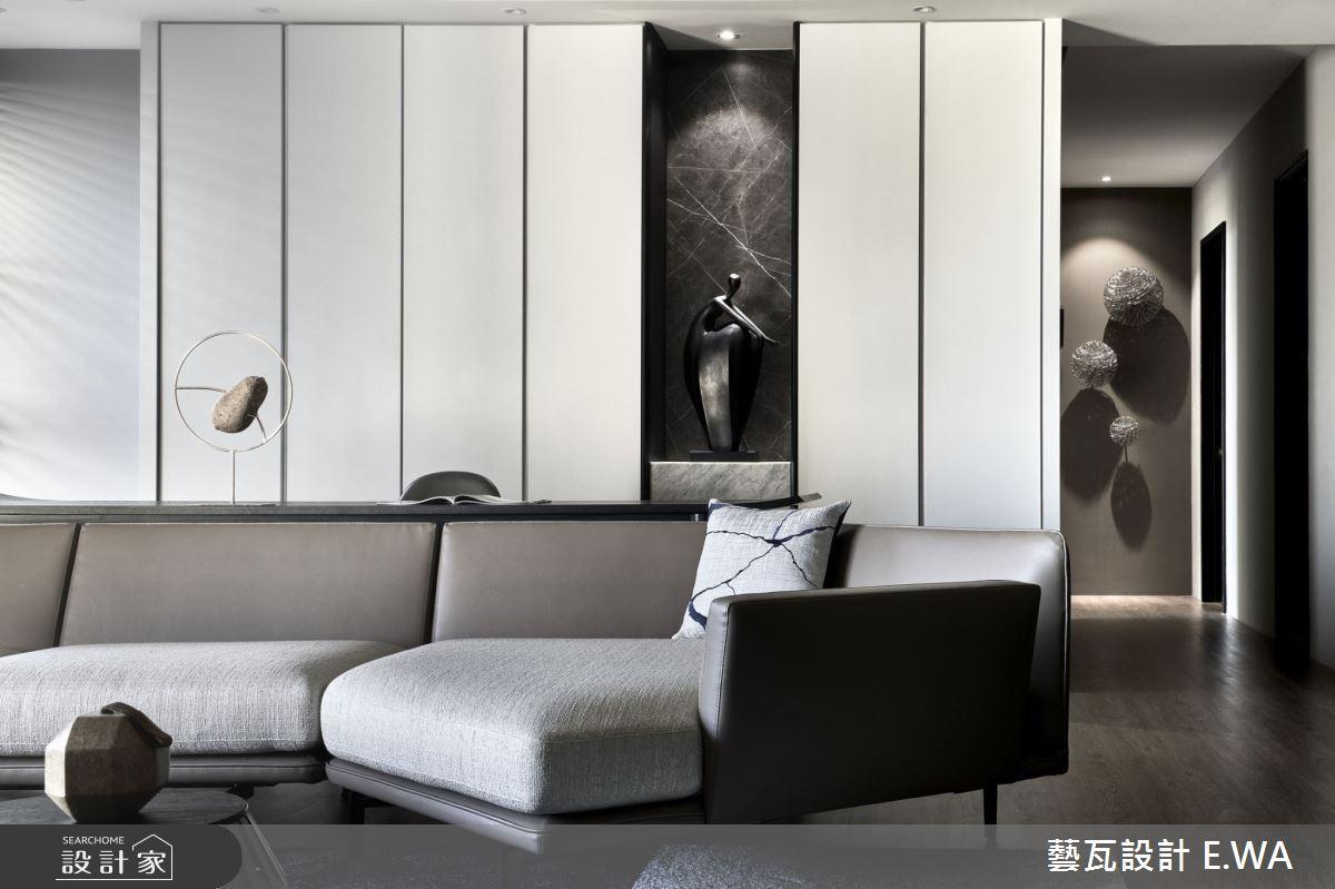 90坪新成屋(5年以下)_現代風客廳案例圖片_藝瓦室內設計_藝瓦_25之7