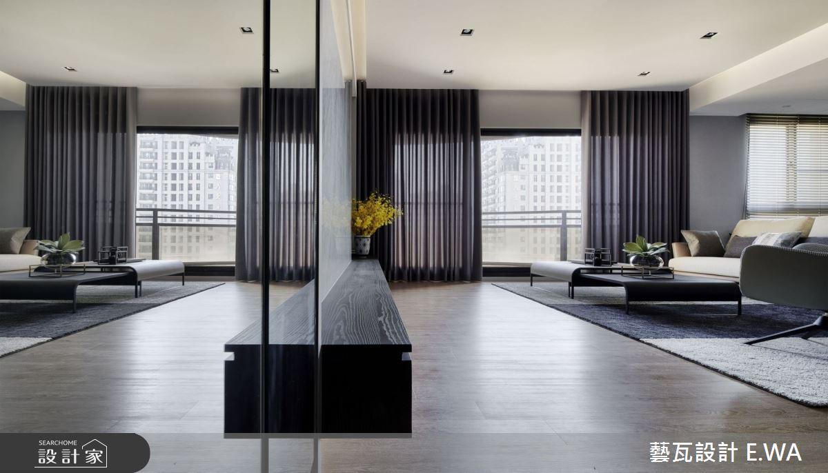 90坪新成屋(5年以下)_現代風客廳案例圖片_藝瓦室內設計_藝瓦_25之2