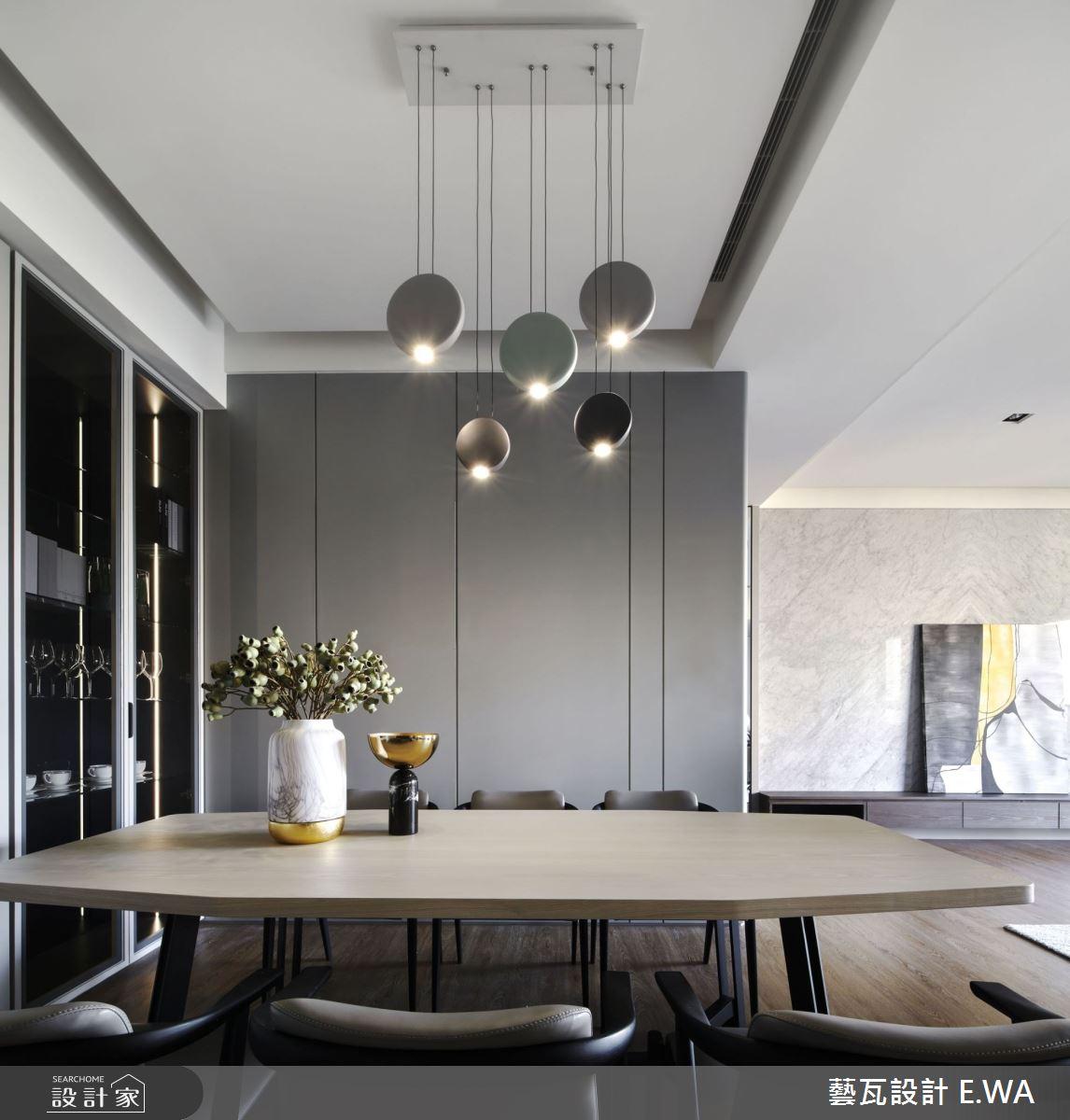 90坪新成屋(5年以下)_現代風餐廳案例圖片_藝瓦室內設計_藝瓦_25之11