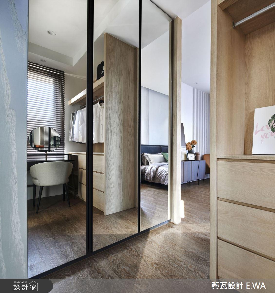 90坪新成屋(5年以下)_現代風更衣間案例圖片_藝瓦室內設計_藝瓦_25之19
