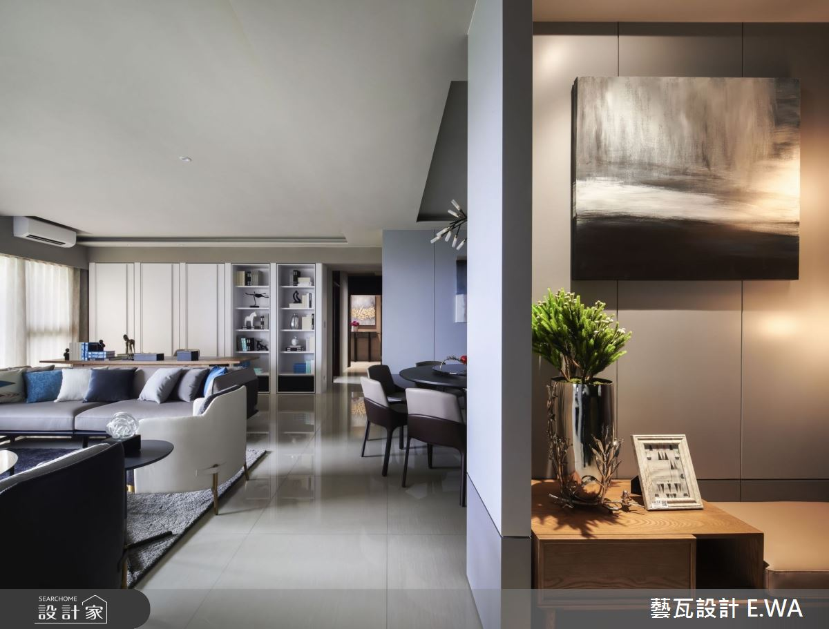 98坪新成屋(5年以下)_北歐風玄關案例圖片_藝瓦室內設計_藝瓦_26之1
