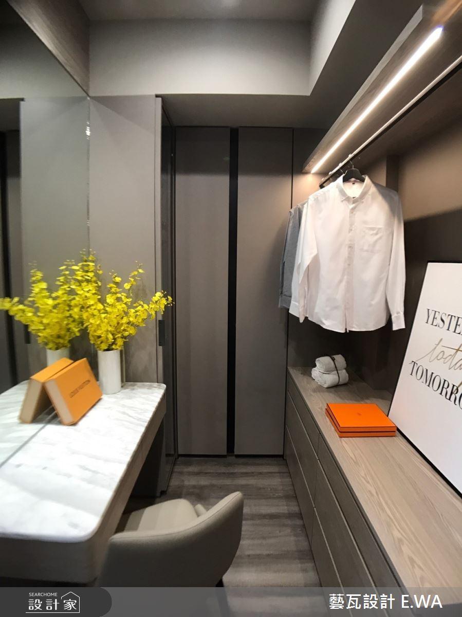 98坪新成屋(5年以下)_北歐風更衣間案例圖片_藝瓦室內設計_藝瓦_26之20
