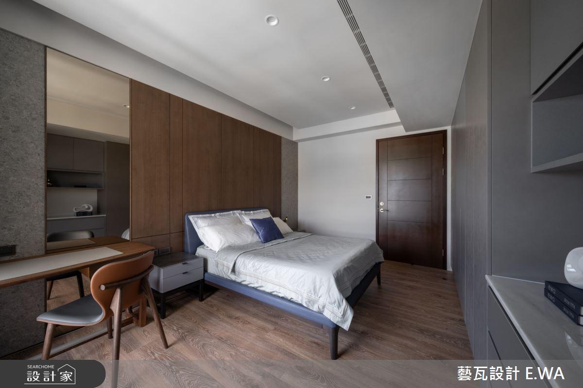 120坪新成屋(5年以下)_現代風臥室案例圖片_藝瓦室內設計_藝瓦_28之12