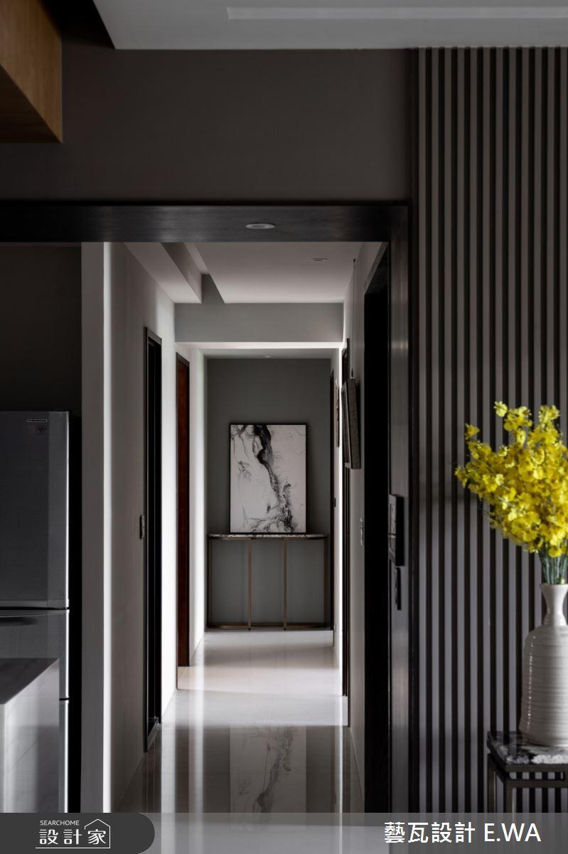 120坪新成屋(5年以下)_現代風走廊案例圖片_藝瓦室內設計_藝瓦_28之6