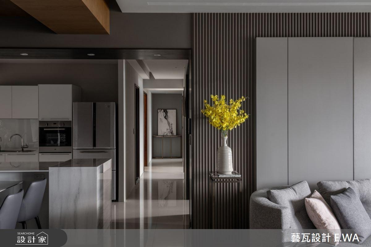 120坪新成屋(5年以下)_現代風走廊案例圖片_藝瓦室內設計_藝瓦_28之5