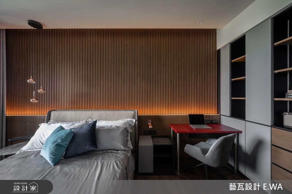 120坪新成屋(5年以下)_現代風臥室案例圖片_藝瓦室內設計_藝瓦_28之10