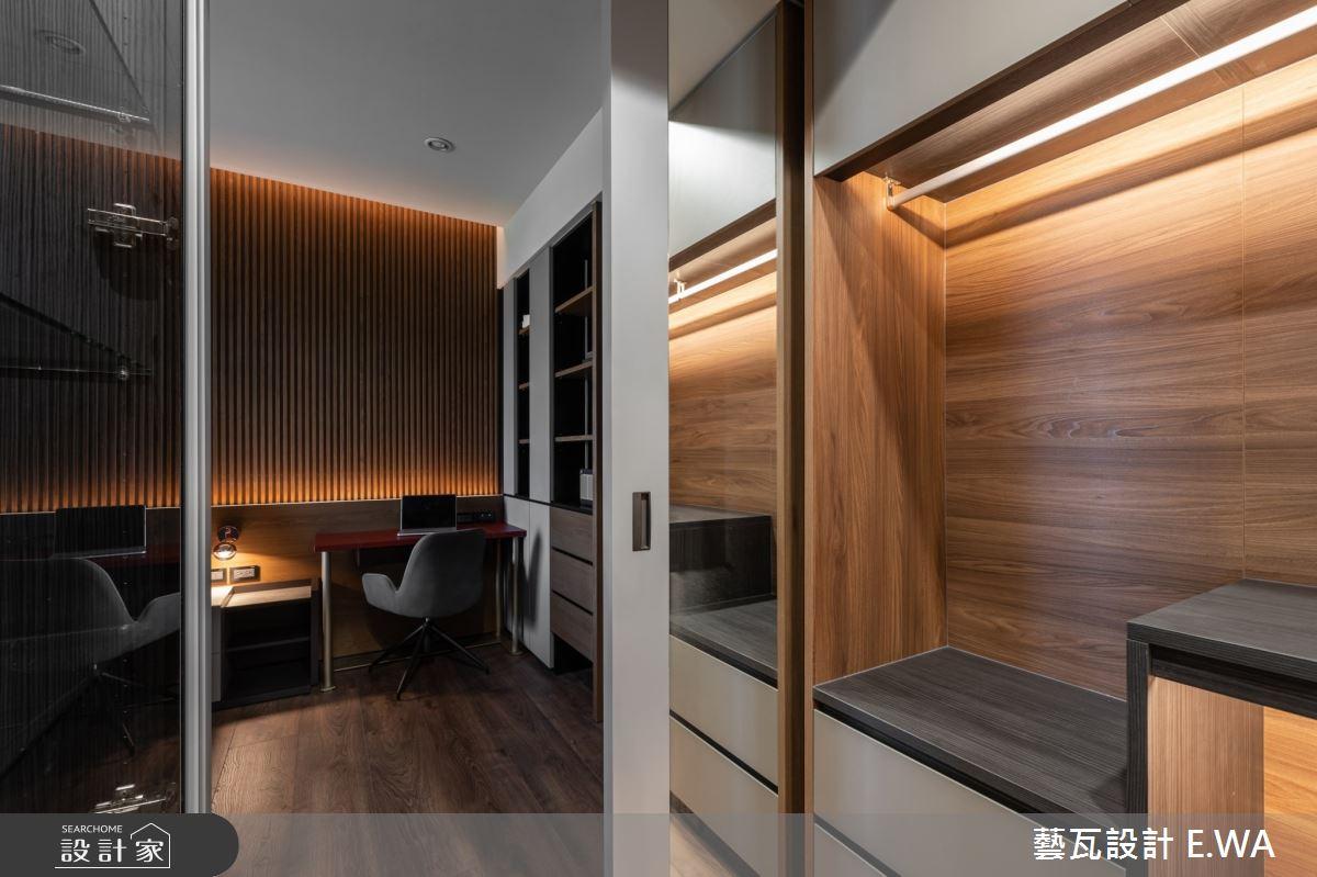 120坪新成屋(5年以下)_現代風更衣間案例圖片_藝瓦室內設計_藝瓦_28之11